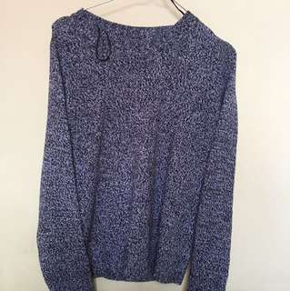 HnM Black Grey Sweater