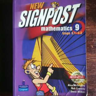 Signpost Mathematics 9 Stage 5.1-5.3