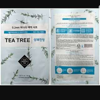 Etude mask tea tree