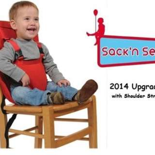 Sack n Seat portable high chair seat