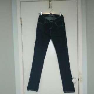 Dark Blue Denim Jeans Size 8