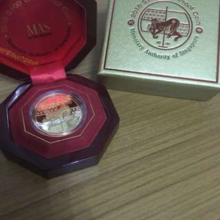 Limited Edition Gold Coin ($100) from MAS Collection Year of Monkey