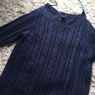 H&M navy sweater