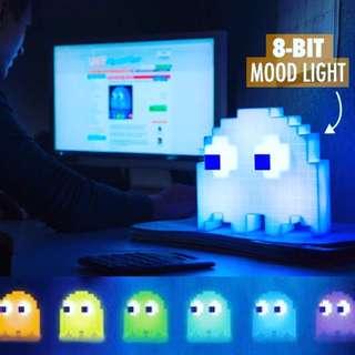 🚚 PAC-MAN食豆幽靈派對變色夜燈裝飾燈