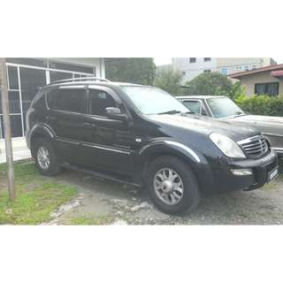 SECONDHAND REXTON RX 270 HDI(A) (DIESEL) 2005