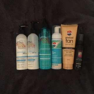 New and Used Fake Tan Bondi Sands, Le Tan & Australis