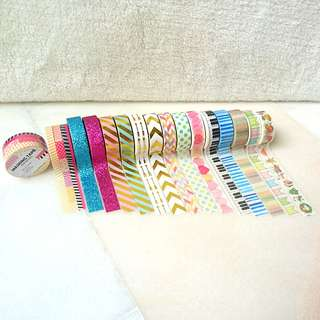 *RESTOCKED* Masking Tapes (washi tapes/ Deco Tapes)