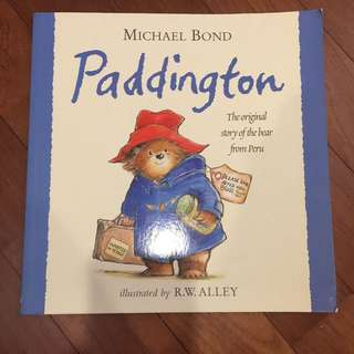 Preloved Paddington book