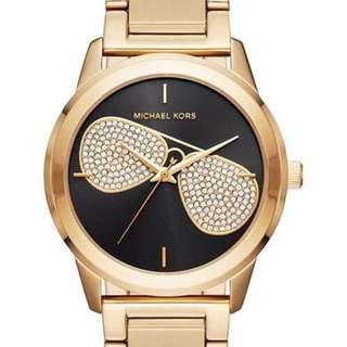 MICHAEL KORS Hartman Gold-Tone Aviator Watch
