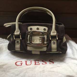 Guess Mini Discontinued Purse w/ Compartments