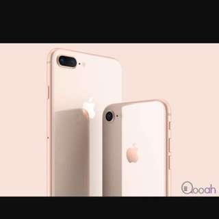 Iphone 8 i8 256g 玫瑰金
