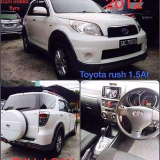 Toyota Rush 1.5G Auto