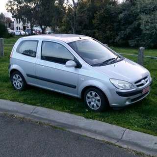 Hyundai getz 1.4ltr 2007 very clean rego! Female owner