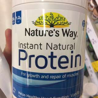 Nature's way protein