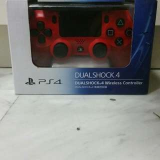 Dual Shock PS4 Controller (Red)