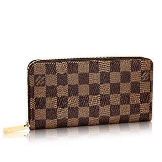 LV Zippy Wallet Damier Ebene 💯% Authentic / PRE-ORDER (14 days) >>> PLEASE READ Bio and Product details carefully
