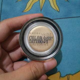 Maybelline color tatto gelcream eyeshadow