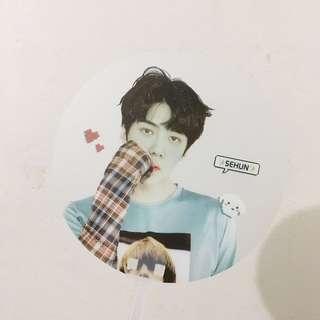 EXO Sehun Transparent Fan