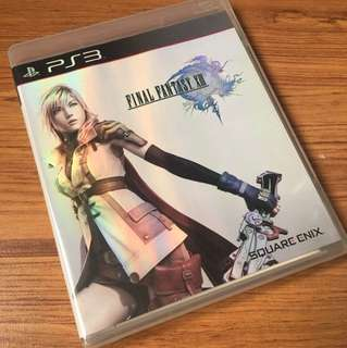 PS3 Game Final Fantasy XIII 13
