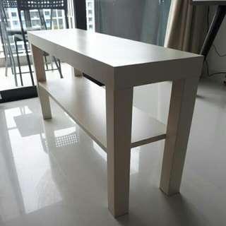 Ikea Lack table, White