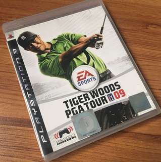 PS3 Game Tiger Woods PGA Tour 09