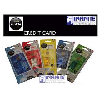AROMA CREDIT CARD CAR PERFUME OR AIR FRESHENER 4ML