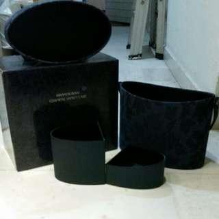 shiseido hanatsubaki cosmetic vanity case...