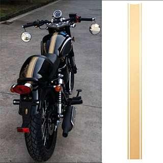 1 Piece Motorcycle DIY Tank Fairing Cowl Vinyl Stripe Pinstripe Decal Sticker For Cafe Racer 50 x 4.5 cm
