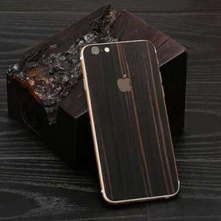 iPhone Wooden Skin with Logo
