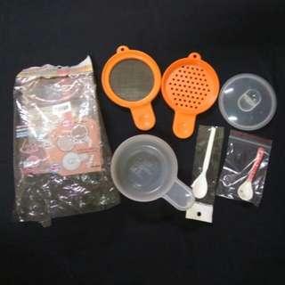 🚚 可微波副食品調理器,研磨碗