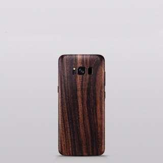 Authentic Wooden Samsung Skin