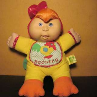 Cabbage Patch Kid Chicken Costume /Rooster Outfit CPK / Yellow Rooster