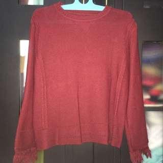 blouse rajut
