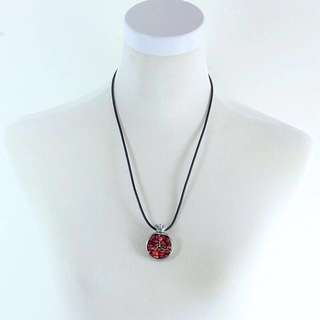 Oriental pomegranate neckless
