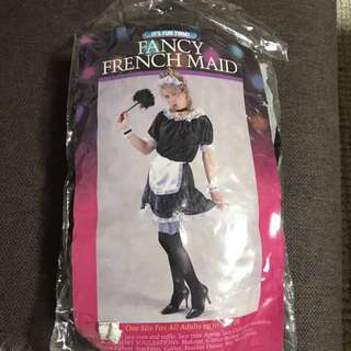 COMPLETE MAID COSTUME