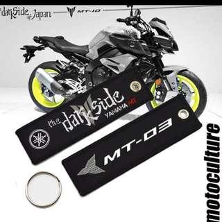 Yamaha MT03 Key Tag