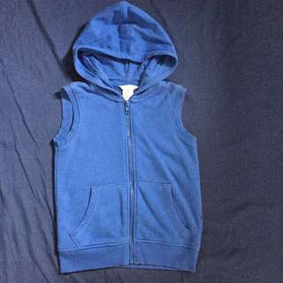 authentic H&M hooded sleeveless shirt