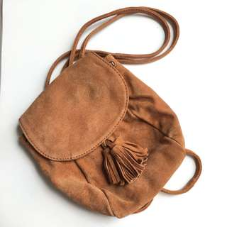 Suede Mini Bag