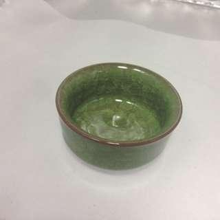 🚚 陶瓷冰裂釉茶杯直徑7高3.5公分