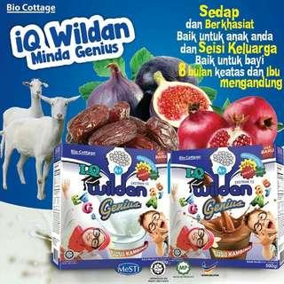 Iq wildan genius susu kambing 1 for $20 2 for $38 (Instock )
