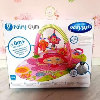 PLAYGRO FAIRY GYM - playmat alas main tidur bayi