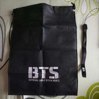 Official Army Dust Bag And Strap