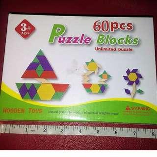 60 pcs Puzzle Blocks (Unlimited Puzzle)