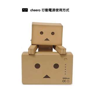 阿愣 行動電源 cheero Power Plus 10400mAh DANBOARD Version