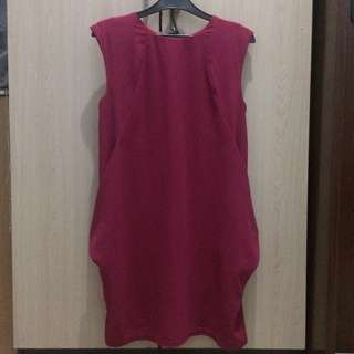 RE PRICE!! Dress fushia Ezpresso