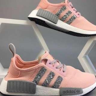 Custom adidas sparkle nmd