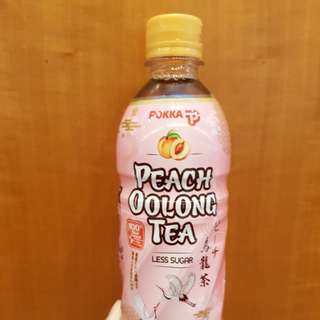 POKKA PEACH OOLONG TEA