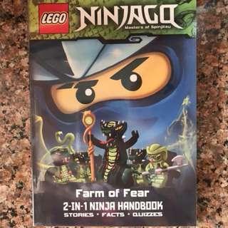Lego Ninjago - 2 In 1 Ninja Handbook / Farm of Fear / Nothing in the Dark