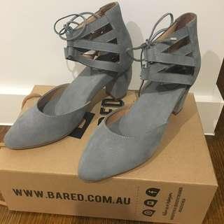 BATED heels