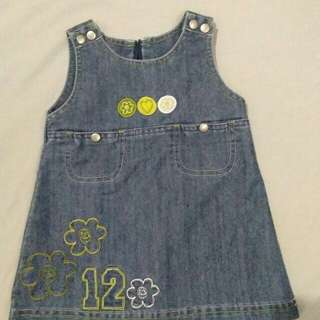 Soft Maong Dress